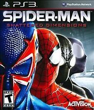 BRAND NEW SEALED PS3 Spider-Man: Shattered Dimensions (Sony PlayStation 3, 2010)