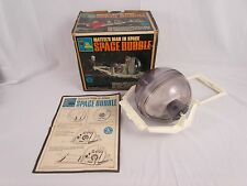 Vtg 1968 Major Matt Mason SPACE BUBBLE Complete w Original Box & Manual NICE!