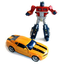 Universo De Transformers Optimus Prime & Movie Bumblebee cifras bonito conjunto