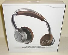 New Plantronics BackBeat Sense Premium Bluetooth Headphones Rechargeable Black