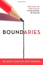 Boundaries: When to Say Yes, How to Say No to Take by Henry Cloud Paperback NEW