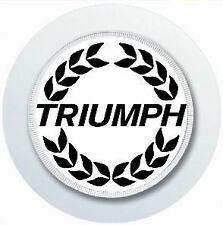 TRIUMPH CREST CAR TAX DISC HOLDER REUSABLE