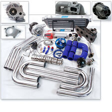 Camry Solara TC XB 2AZ-FE 2AZFE 2.4L T3 T04E T3/T4 Turbo Kit Cast Turbo Manifold