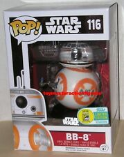 FUNKO POP STAR WARS SDCC 2016 BB-8 #116 (THUMBS UP) Vinly Figure In Stock