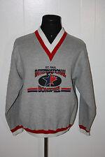 St Paul Minnesota International Bonspiel Curling Club Pullover Sweatshirt L