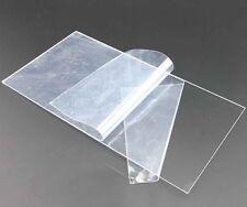 """2mm Clear 8"""" x 10"""" Acrylic Plastic Plexiglass Cut 180mm x 225mm Sheet  USA"""