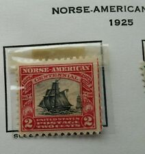 Scott #620 -1925 Norse -American Issue 2 Cents Stamp.  MNH - PERFECT condition