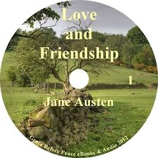 Love and Friendship by Jane Austen Audiobook unabridged English on 1 MP3 CD
