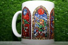 Stained Glass Zelda Hyrule Warriors Dungeon - The Legend Of Zelda - Coffee Mug