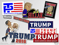 TRUMP Anti Obama Hillary Variety Pack Bumper Stickers Decals Assortment 7-pack