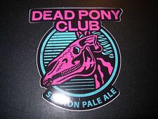 BREWDOG BREW DOG Dead Pony Hardcore Punk LOGO STICKER DECAL craft beer brewery