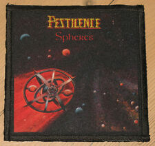 "PESTILENCE ""SPHERES"" silk screen PATCH"