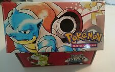 New! Pokemon Original Base Set Storage Card Box - 1999 - MINT - ULTRA RARE!!