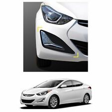 New Fog Lamp Matt Black Cover Molding Set for Hyundai Elantra 2014-2016