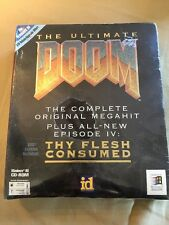 THE ULTIMATE DOOM (1995) WIN 95 PC BIG BOX ID SOFTWARE FACTORY SEALED NEW