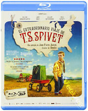 The Young and Prodigious T.S. Spivet NEW Family Blu-Ray Disc Jean-Pierre Jeunet