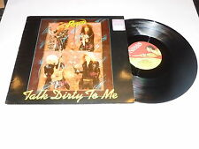 """POISON - Talk Dirty To Me - Rare 1987 UK debut 3-track 12"""" Single"""
