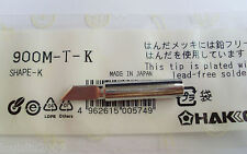 1pc 900M-T-K Replace Soldering Solder Leader-Free Solder Iron Tip For Hakko 936