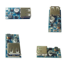 2Pcs Mini DC-DC USB 0.9V-5V to 5V Boost Step-up Power Supply Module Contrôle PFM