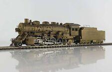 antike US Messing-Güterzuglok 2-8-2 class 4000 der Santa Fe von Toby