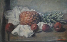 GEORGE WEISSBORT STILL LIFE OIL PAINTING ~ EXPENSIVE ARTIST IN LONDON GALLERIES