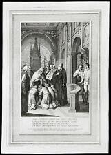 santino incisione 1700 S.FILIPPO NERI