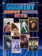 Country Sheet Music Hits: Piano/Vocal/Chords