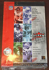 2006 Fleer Ultra Football Factory Sealed Hobby Box