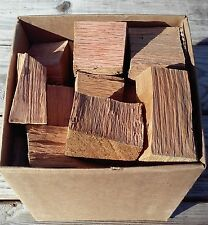 Oak Wood Chunks Chips for Smoking Grilling BBQ Medium Priority Box