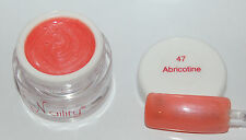 Color Gel  UV/LED/CCFL 7ml Abricotine Naility USA  N°47 soak off
