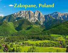 Poland - ZAKOPANE  - Travel Souvenir Fridge Magnet