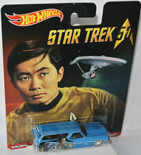 Star Trek - 1970 CHEVY CHEVELLE DELIVERY * HIKARU SULU * - 1:64 Hot Wheels