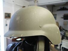 "CASQUE MILITAIRE KEVLAR ""FRITZ"" CGF GALLET 1997 GRANDE TAILLE / OBSOLETE"