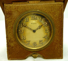 NICE ANTIQUE SCHILD Co. 8 DAYS TRAVEL CLOCK SCHILD Co POCKET WATCH