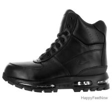 NIKE AIR MAX GOADOME 6'' ACG WATERPROOF BOOTS MEN'S SIZE US 10 BLACK 806902-001
