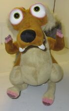"Ice Age 4 Continental Drift SCRAT Squirrel 10"" Plush STUFFED ANIMAL TOY Used"