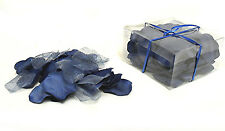 Rose Petals 100 pcs ~ NAVY DARK BLUE ~ Silk Wedding Flowers Party Centerpieces