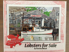 Lobsters for Sale, 500 Pc, Piece Time Puzzles, 12+, 2010, Neutral