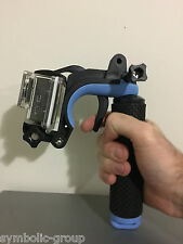 Go Pro trigger mount for GoPro Hero 5, 4, 3, 2, 1 & other action cams.