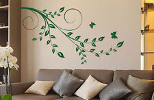 Tree Branch Flowers Plants Garden Floral Wall Decal Art Vinyl Sticker tr956