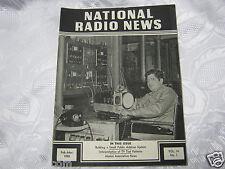 National Radio News 1950  tube vintage electronics magazine tube PA