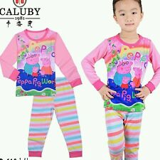 Peppa Pig (Pink) Caluby Long Sleeves Pyjamas 2T-7T