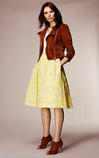 BNWT + KAREN MILLEN + LUXURIOUS SUEDE BIKER JACKET + SIZE UK 14