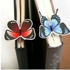 Cute 5Pcs Butterfly Shape Exquisite Mini Bookmark Stationery Reading Accessories