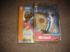 MCFARLANE NBA 2**ELTON BRAND**VARIANT WHITE  CLIPPERS JERSEY **QQ