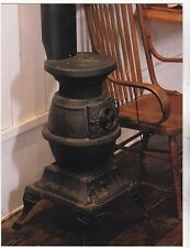 "*Postcard-""Old-Fashioned Stove Type/Heater"" ...Next to Rocking Chair-..CLASSIC-"