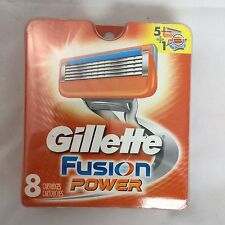 Gillette Razor Blade Cartridge Refills - Fusion Power - 8 Pack