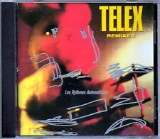 LES RYTHMES AUTOMATIQUES - TELEX REMIXES - CD USATO OTTIME CONDIZIONI