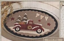 PATTERN - Truck Full of Joy - applique Christmas wall hanging PATTERN