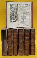HISTOIRE DE L`ADMIRABLE DON QUICHOTTE,6 BÄNDE,40 KUPFERSTICHE,1732